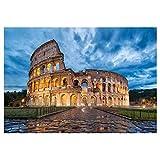 TANXM Diamante Pittura Roma Colosseo Italia Passato Edificio DIY 5D Diamante Ricamo Layout Quadrato Completo Complementi Arredo Casa