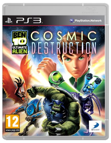 Ben 10 Ultimate Alien: Cosmic Destruction (PS3) [Importación inglesa]