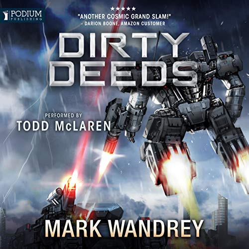 Dirty Deeds audiobook cover art