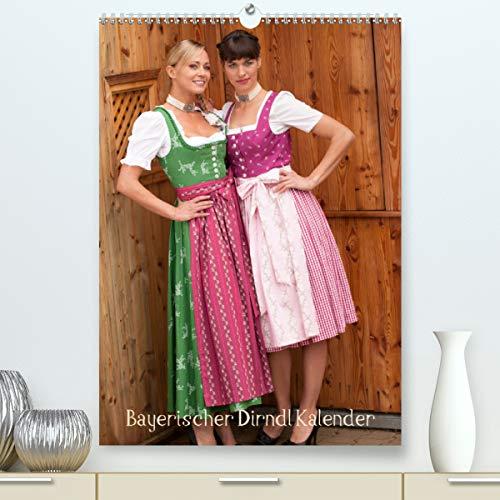 Bayerischer Dirndlkalender (Premium, hochwertiger DIN A2 Wandkalender 2021, Kunstdruck in Hochglanz)