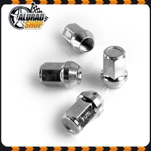Alurad Shop Mkem121534 Zinc Écrous pour Jantes 16 Argent