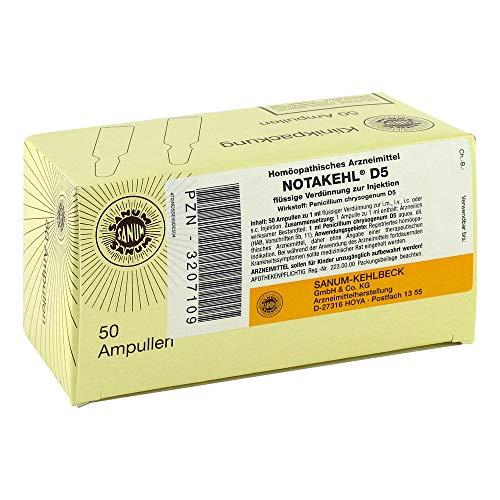 NOTAKEHL D 5 Ampullen 50X1 ml
