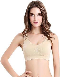 2Pcs/Pack Sports Bra Large Size Seamless Adjustment Bra Top Bra Comfortable Sweat Absorbent Underwear L-3XL