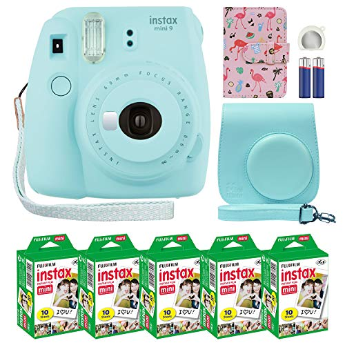 Fujifilm Instax Mini 9 Instant Camera Ice Blue...