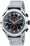 Swatch Reloj de Cuarzo Unisex Black Energy 45 mm