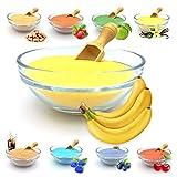 JuliDon Sabor de azúcar aromático 'Banane' para máquinas de algodón de azúcar, algodón de azúcar, palomitas, cócteles, caramelos, azúcar aromatizado, 1 x 200 g