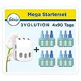 Febreze 3Volution Duftstecker (80 ml) Reine Frische, Starterset, Raumduft und Lufterfrischer (4 x 20 ml) -