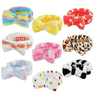 9 Pack Spa Headband