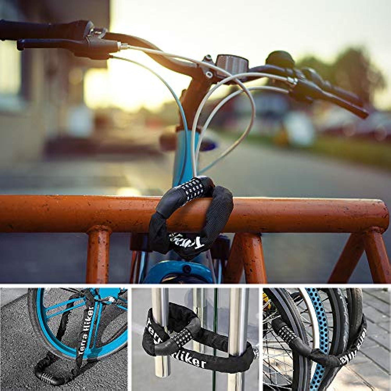 FUGL S/écurit/é Serrure Antivol Cadenas De Bicyclette Voyage Cha/îne /Équitation Fil dacier Anti-Vol