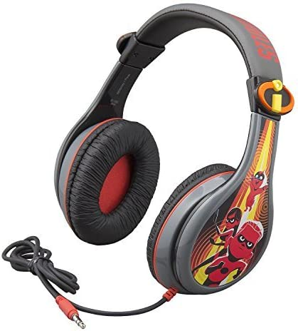 Incredibles 2 Headphones for Kids with Built in Volume Limiting Feature for Kid Friendly Safe product image