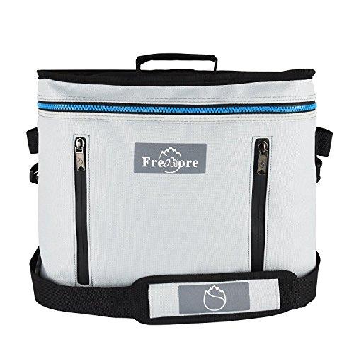 plegable bolsa de viaje grande portátil con aislamiento plegable refrigerador bolsa térmica...