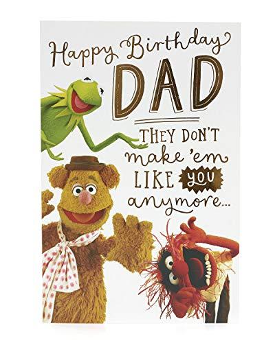Dad Birthday Card - Birthday Card for Him - Funny Birthday Card - Muppets Birthday Card