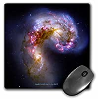 3drose LLC 8x 8x 0.25インチマウスパッド、Andromeda Galaxyの星(MP 76820_ 1)