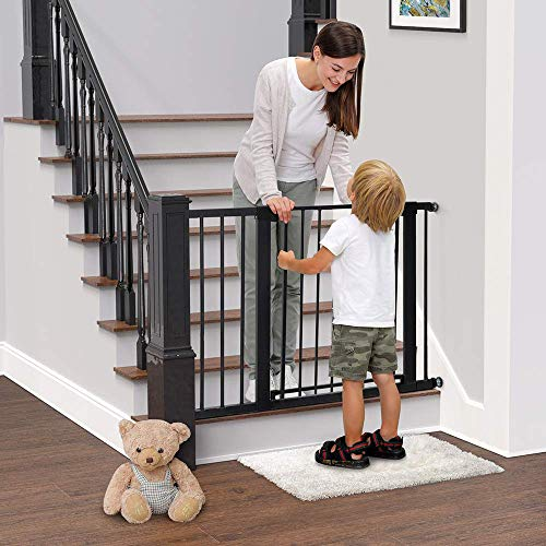 Baybee Auto Close Safety Baby Gate Auto Close Safety Baby Gate, Extra Tall and Wide Child Gate, Easy Walk Thru Durability Dog Gate for The House,... 3