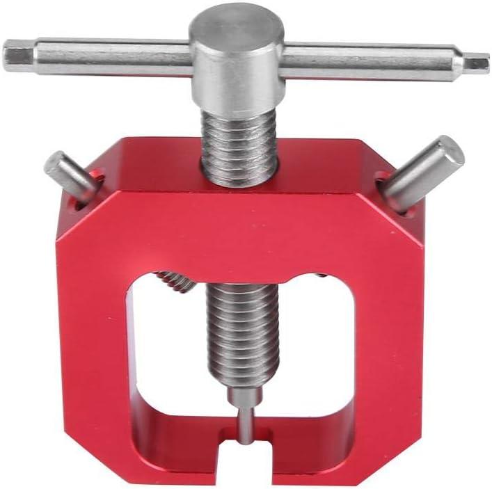 Dilwe Extractor de Engranajes de Motor RC, Herramienta Profesional Extractor de Extractor de Engranajes de Pinon Universal para Motores RC Accesorio de Parte de Actualizacion(Rojo)