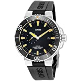 Oris Aquis Small Second Date Mens Stainless Steel Automatic Diver...