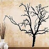 Tianpengyuanshuai Adhesivo de Pared para árbol seco clásico Adhesivo de Pared extraíble 87X109cm