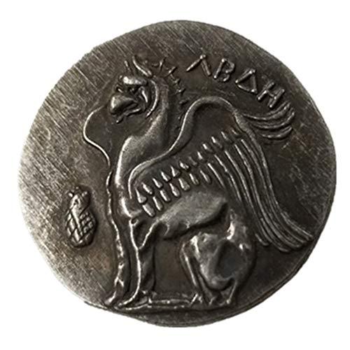 Seltene, antike, antike Athen, griechische Silbermünze, Drachm, Atena, Griechenland, Drachma, Silbermünze
