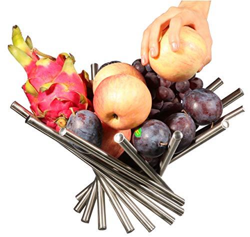 PENGKE Creative Stainless Steel Rotation Fruit...