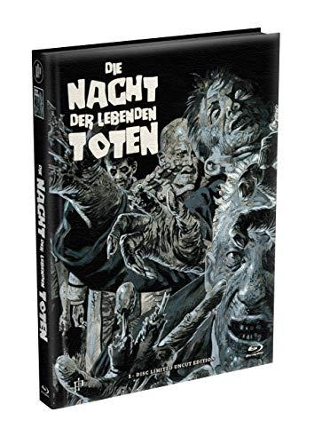 DIE NACHT DER LEBENDEN TOTEN (1968) - wattiertes Mediabook - Cover Y [Blu-ray] Limited 22 Edition - Uncut