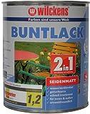 Wilckens 2in1 Buntlack seidenmatt, RAL 1015 hellelfenbein, 750 ml 12411500050