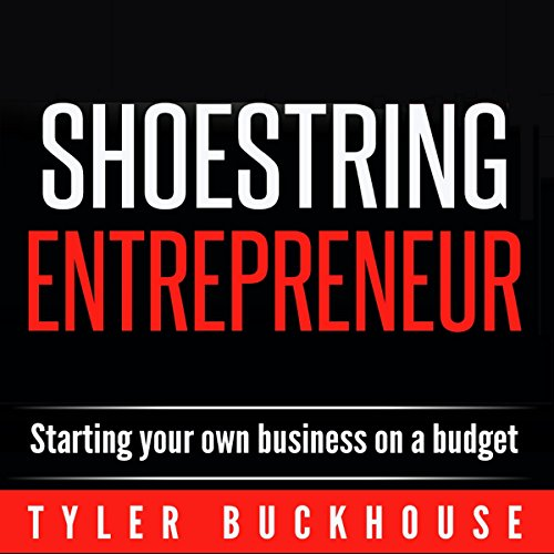 Shoestring Entrepreneur audiobook cover art