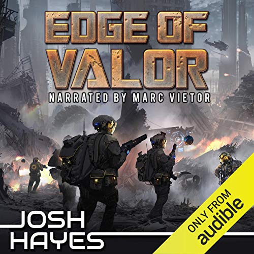 Edge of Valor audiobook cover art