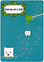 Designer Greetings Lost Tooth Certification from Tooth Fairy Congratulations Card for Kids/Children