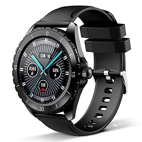 Smartwatch, Fitness Tracker Für Damen Herren, Fitness Armband Sportuhr 1,3-Zoll-Touchscreen, Pulsmesser, Schlafmonitor 24 Sportmodi, Anruf Alarm Schrittzähler, Aktivitätstracker iOS Android C520