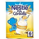 NESTLE P'tite Céréale Vanille 400g - 6 Mois et +
