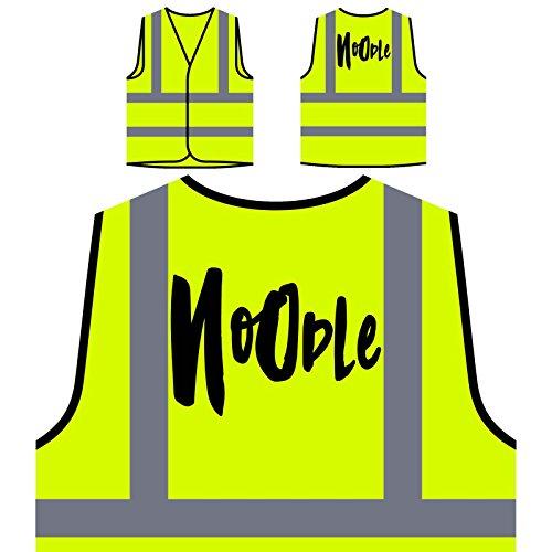 Nudel Nudel Nudel Lustig Personalisierte High Visibility Gelbe Sicherheitsjacke Weste c115v