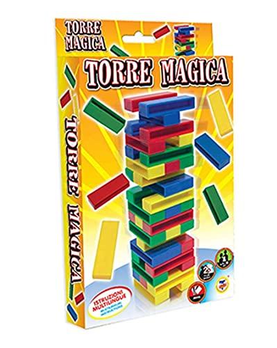 TEOREMA - Torre mágica, Juego de Mesa, Multicolor, Talla única