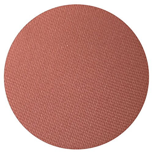Cayenne Matte Pearl Reddish Orange Eyeshadow - Highly Pigmented Professional Makeup Eye Shadow Single Pan, Wet or Dry Magnetic Refill, Paraben Gluten Free Make Up, Cruelty Free Cosmetics [26mm]