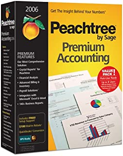 Peachtree Premium Accounting 2006 Multi-User