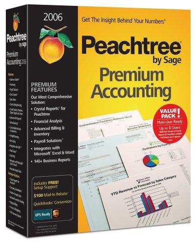 Peachtree Premium Accounting 2006 Multi-User