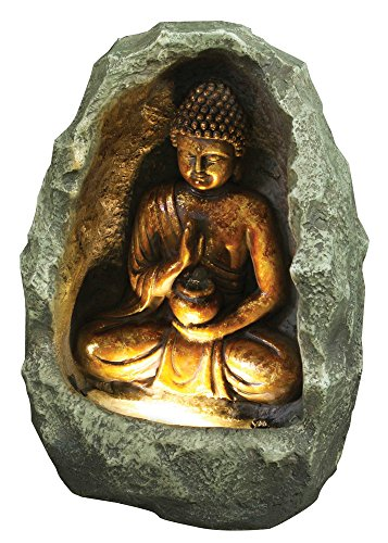 Hi-Line Gift Ltd Golden Buddha Fountain