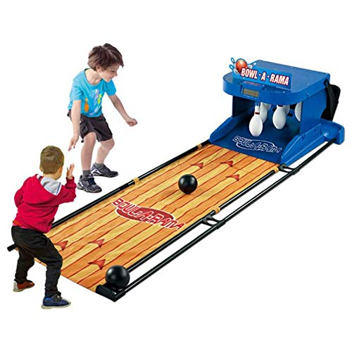 mck Electronic Bowling Game 1-2 People Family Game Bowling Game for Children and Adults Indoor Sports Parent-Child Interactive Toy Ball