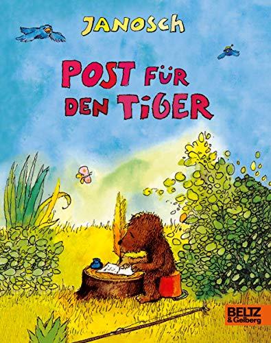 Post für den Tiger: Vierfarbiges Pappbilderbuch