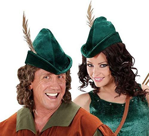 ORLOB Robin Hood Chapeau avec Ressort