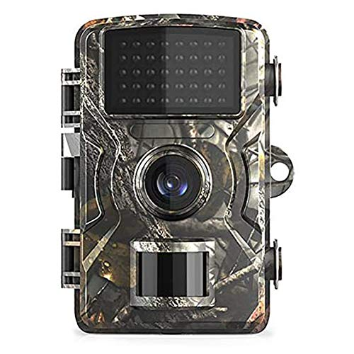 HUANGHUANG Wildkamera, Wildtierkamera, 12MP 1080P Jagdkamera wasserdichte Infrarot-Wildlife-Scouting-Kameras