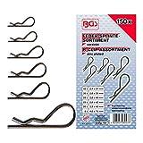 BGS 8043 | Surtido de pasadores de aleta | Ø 2,4 - 4,0 mm | 150 piezas