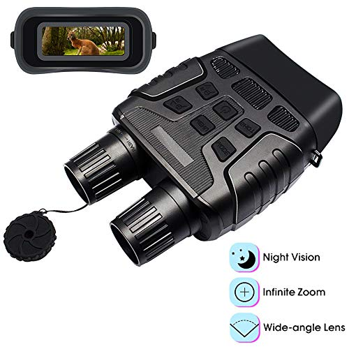 Buy Bargain Braveking1 Night Vision Binoculars, HD Digital Infrared Hunting Binocular Scope with 2.3...