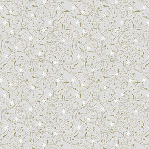 Heyda 204875516 Heyda 204875516 Faltblätter transparent (Curlie & Stardust) 15 x 15 cm , Curlie gold Curlie gold