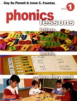 Paperback Phonics Lessons: Letters, Words, and How They Work (Grade 1) Book