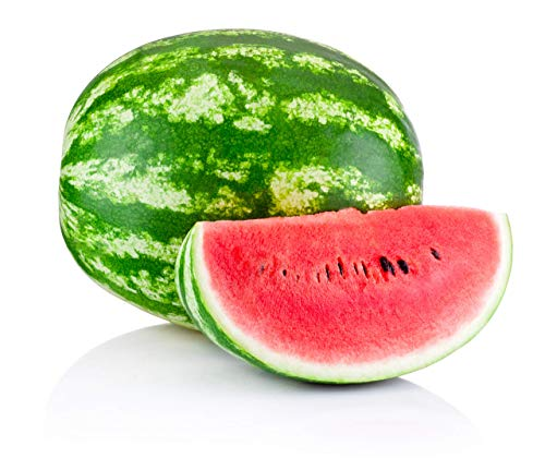 Crimson Sweet Watermelon Seeds for Planting - Large 200 Count Premium Heirloom Seeds Packet!