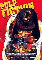 インテリアポスター・プリント- Pulp Fiction P10パルプフィクションP10アートキャンバス絵画 インテリアパネル インテリア絵画 新築飾り 贈り物 サイズ(40x50cm)