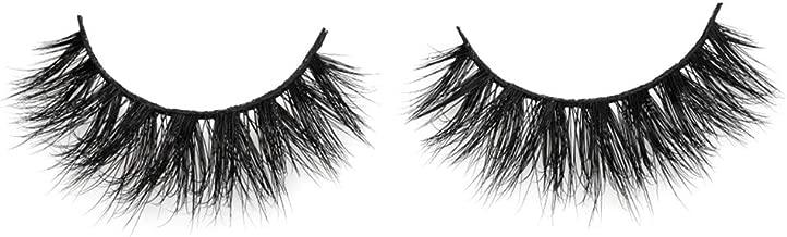 Arison Lashes 3D Mink Fur False Eyelashes Fake Lashes Women's Makeup Natural Soft Individual Long Hand-made 1 Pair Package (D008)
