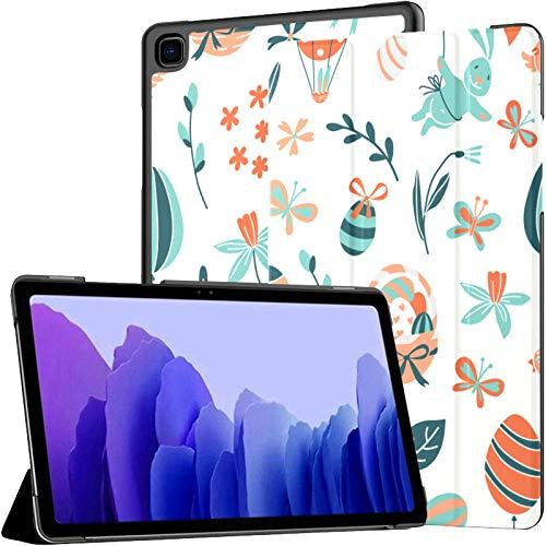 Funda de piel sintética para Samsung Galaxy Tab A7 de 10,4 pulgadas de 2020, diseño de Pascua