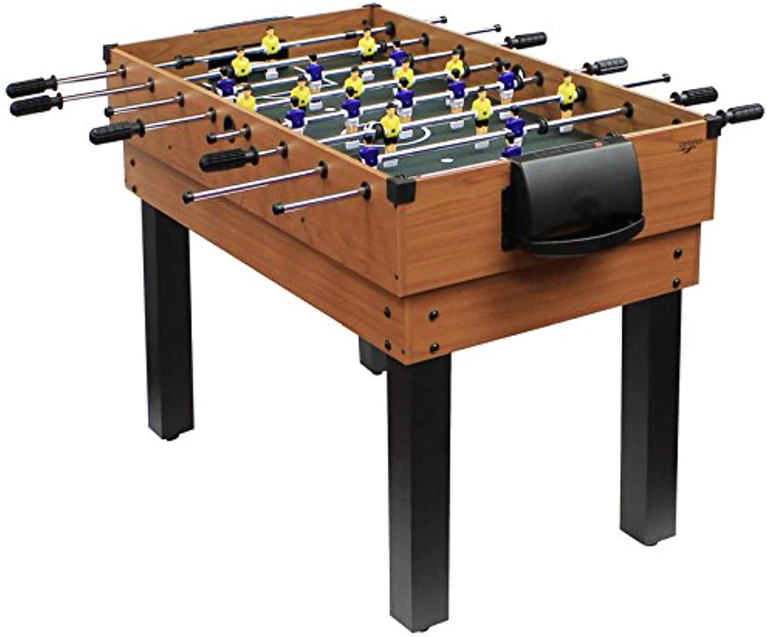 Carromco Multifunktionstischfussball Multigame Choice-XT 10-in-1 inklusive Billardkugeln, 2 Queues, 2 Kickerblle, 06010