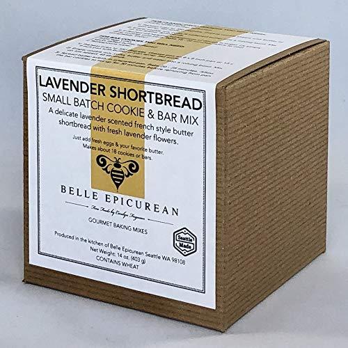 Belle Epicurean Lavender Shortbread Cookie & Bar Mix, 14 ounces